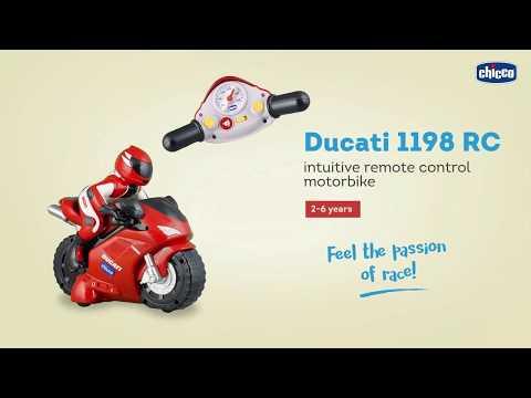 لعبة دراجة دوكاتي 1198 للاطفال مع ريموت كنترول   شيكو