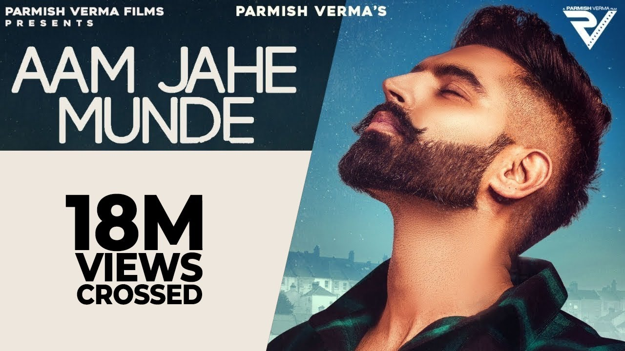 Aam Jahe Munde Lyrics in English - Parmish Verma feat Pardhaan