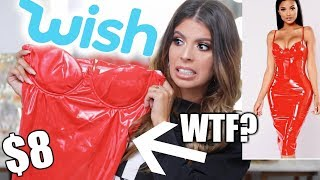 I BOUGHT THE CHEAPEST WISH CLOTHING | TRY ON HAUL!