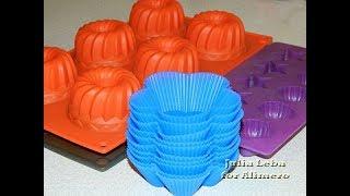 Нужно ли силиконовые формы для выпечки смазывать маслом