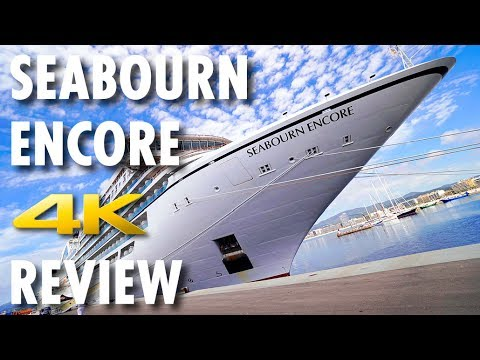 Seabourn Encore Tour & Review ~ Seabourn ~ Cruise Ship Tour & Review [4K Ultra HD]