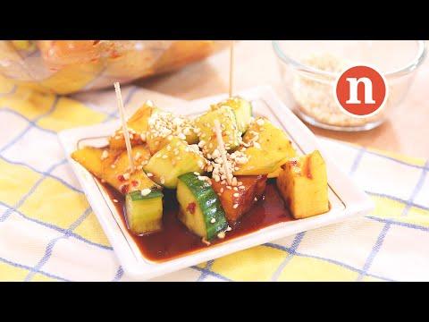 Malaysian Fruits and Vegetables Salad | Rojak Buah Petis [Nyonya Cooking]