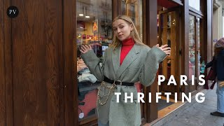 How To Thrift In Paris: Amazing Vintage Shops You Should Know | Regina Anikiy | Parisian Vibe