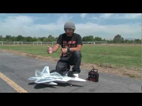 F-22 Raptor Perfect Parkflyer EDF RC Jet FLIGHT REVIEW in HD!