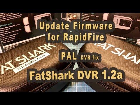 Fatshark Dominator HDO mit V1 21a RapidFIRE DVR Firmware
