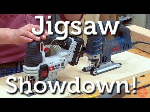 Jigsaw Corded or Cordless: Showdown!