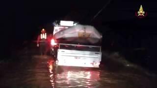 preview picture of video 'Alluvione in Maremma Toscana Grosseto : 2 Vittime del Maltempo'