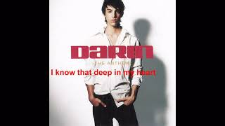 """The Way I Am"" - Darin (Lyric Video)"