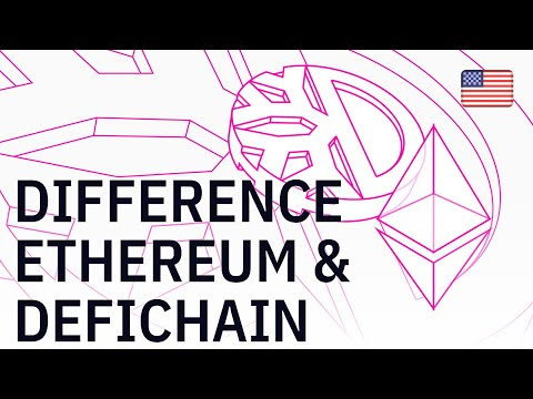 Difference between Ethereum and DeFiChain
