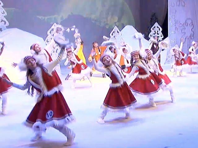 Ангарчане выбрали свою Снегурочку