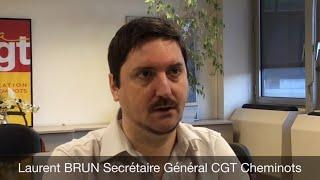 Où en sommes-nous du conflit ? Interview de Laurent Brun, secrétaire général de la CGT Cheminots