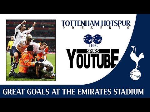 Great Spurs Goals at The Emirates Stadium