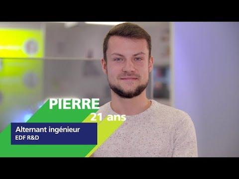 Video #AlternanceEDF - Découvrez Pierre, alternant en R&D