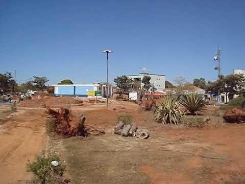 Reforma da Praça José Lobo em Bela Vista de Goiás feita no ano de 2008