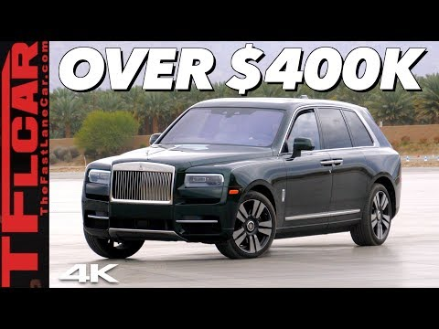 External Review Video mup2Avs43EI for Rolls-Royce Cullinan SUV