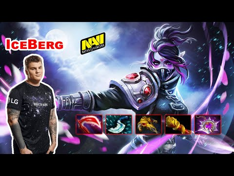 Iceberg Templar Assassin Mid - DOTA 2 7.27D - NAVI - Dota2 Gameplay [Learn To PRO]