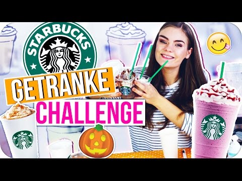 STARBUCKS DRINKS DIY CHALLENGE! ◇ 4 Rezepte nachgemacht & LIVE getestet! // I'mJette