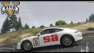 Porsche Rallye 911 R SA Competions