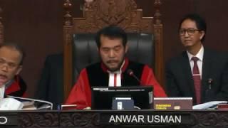 Panas!! Perdebatan BW dan Hakim MK soal Jaminan Keamanan bagi Saksi yang akan Hadir (3)
