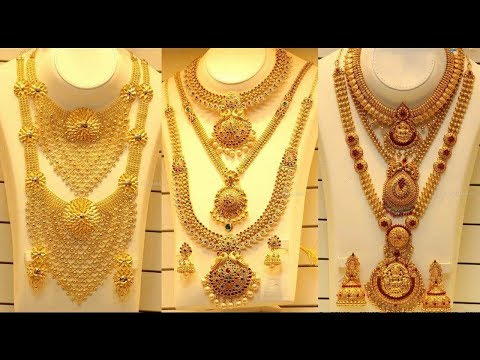 Latest Antique Temple Long Haram Designs With Phone Number