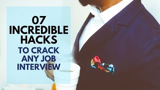 7 incredible interview tips & tricks to crack any interview. Interview skills & techniques
