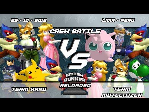 Smash Bunker Reloaded Crew Battle - Team Karu vs Team MuteCitizen
