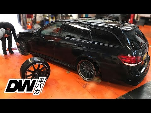 BADASS new wheels for the Mercedes E63 AMG!