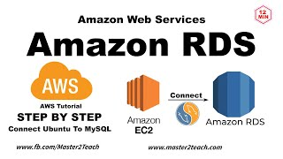 AWS Tutorial - Amazon RDS Configure MySQL Database Tutorial 2020