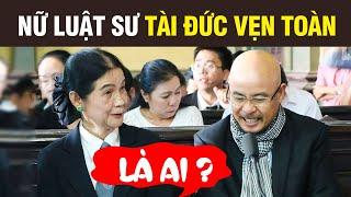 Nữ Luật Sư tài đức vẹn toàn LÀ AI ?mà khiến ÔNG VUA Cafe Trung Nguyên mời làm luật sư cho riêng mình