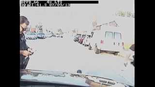 Cops causes accident