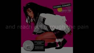 "Donna Summer - Forgive Me LYRICS SHM ""Cats Without Claws"" 1984"