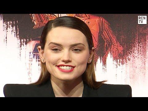 Daisy Ridley On Star Wars Female Role Model Rey