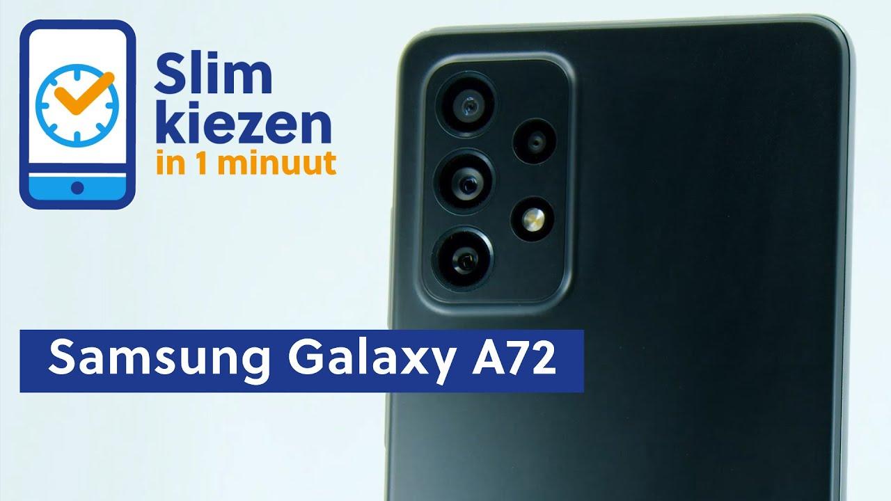 Samsung Galaxy A72 video