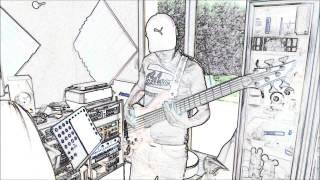 John Drai - Never Heal bass recording session