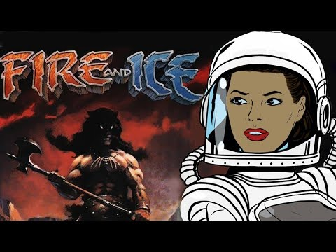 Fire and Ice 1983 Movie Review - Analysis w/ Spoilers