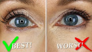 Best & Worst! Under Eye Concealer Testing on Mature Skin! 2020