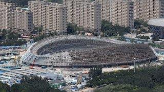 2022 Beijing Winter Olympics venue resembles an ice ribbon