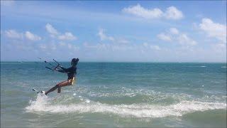 Kiteboarding Lessons 2 - Body drag, water start, turns
