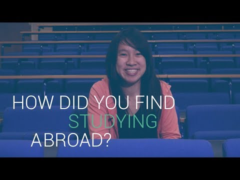 How did you find studying abroad? | University of Southampton