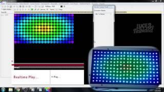 Tutorial Led Edit Avanzado Controlador T300K Tiempo Real Led Pixel
