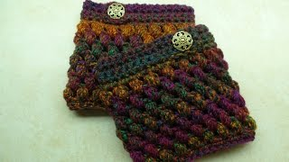 Crochet Boot Cuffs Puff Stitch Boot Cuffs #TUTORIAL 264 Bagoday Crochet