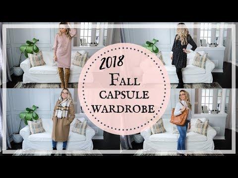 FALL OUTFITS 2018 | AUTUMN CAPSULE WARDROBE