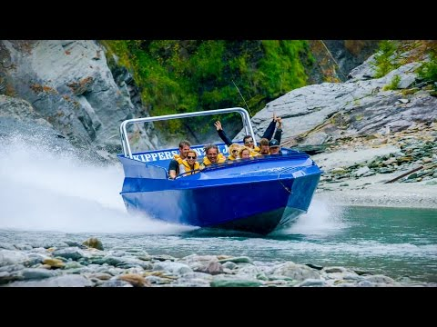 This Jet-Powered Boat In New Zealand Is Going Impossibly Fast