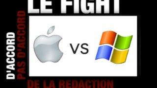 Fight : Mac OS contre Windows !