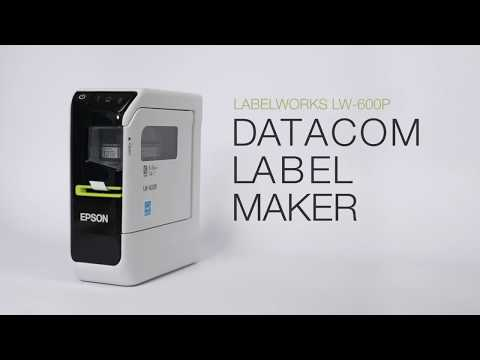 ERS Solutions Datacom and Cable Label Printer - Cable Labelling video thumbnail