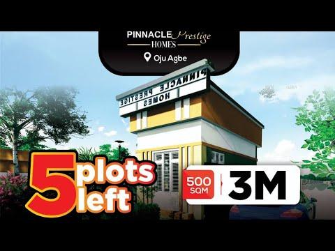 Residential Land for sale Pinnacle Prestige Homes, Less Than 5mins Drive From Eleko. Eleko Ibeju-Lekki Lagos