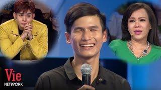 Việt Hương xúc động rơi nước mắt trước tâm sự của chàng trai hát rong khiếm thị | Người Bí Ẩn