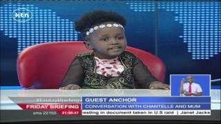 Studio Interview with Chantelle, the four year old genius
