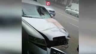 Сбил пешехода на бешеной скорости