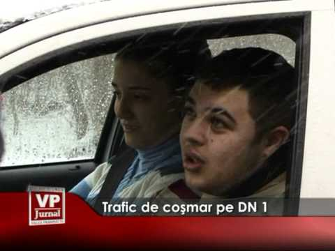 Trafic de coşmar pe DN1